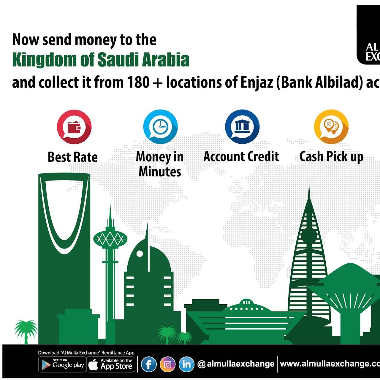 Al Mulla Exchange - Money Transfer Service in Adailiya