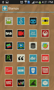 Stamps Icon Pack- screenshot thumbnail