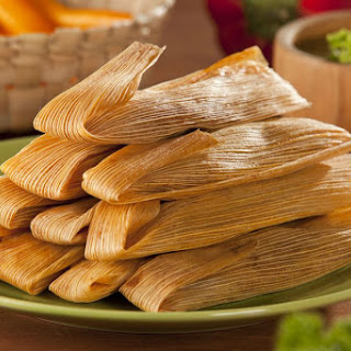 Quick and Easy Cheese Tamales.