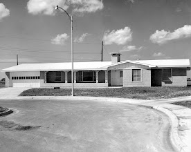 Photo: CO Gerald Duffy's new house 1958-1959