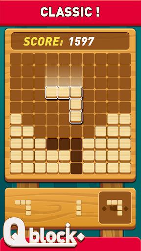 Wood Block Puzzle - Free Classic Block Puzzle Game fond d'écran 1