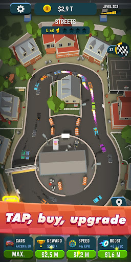 Idle Race Rider — Car tycoon simulator 0.7.1 screenshots 2