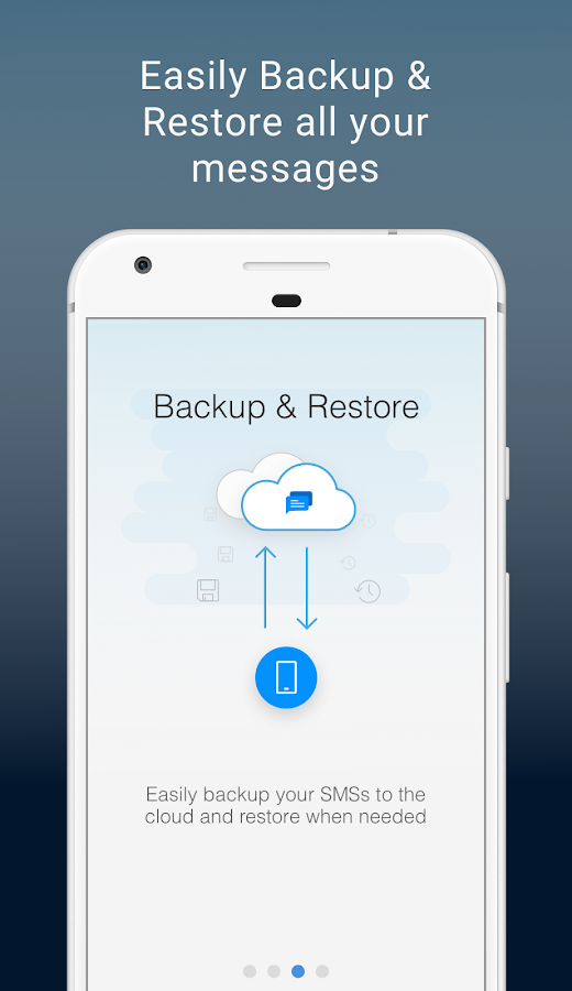 SMS Organizer - Clean, Blocker, Reminders & Backup- screenshot