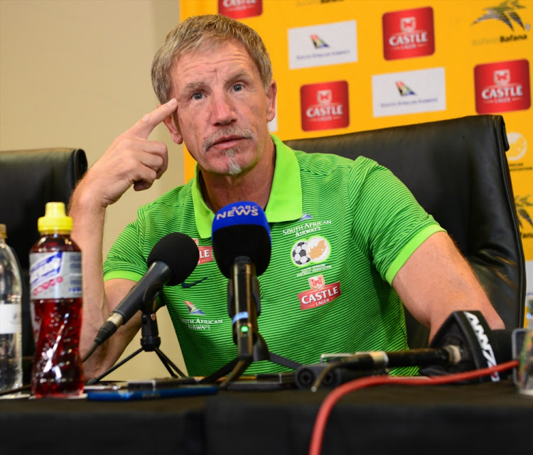 Baxter said the aims of taking a young squad to the Cosafa had been met. File photo