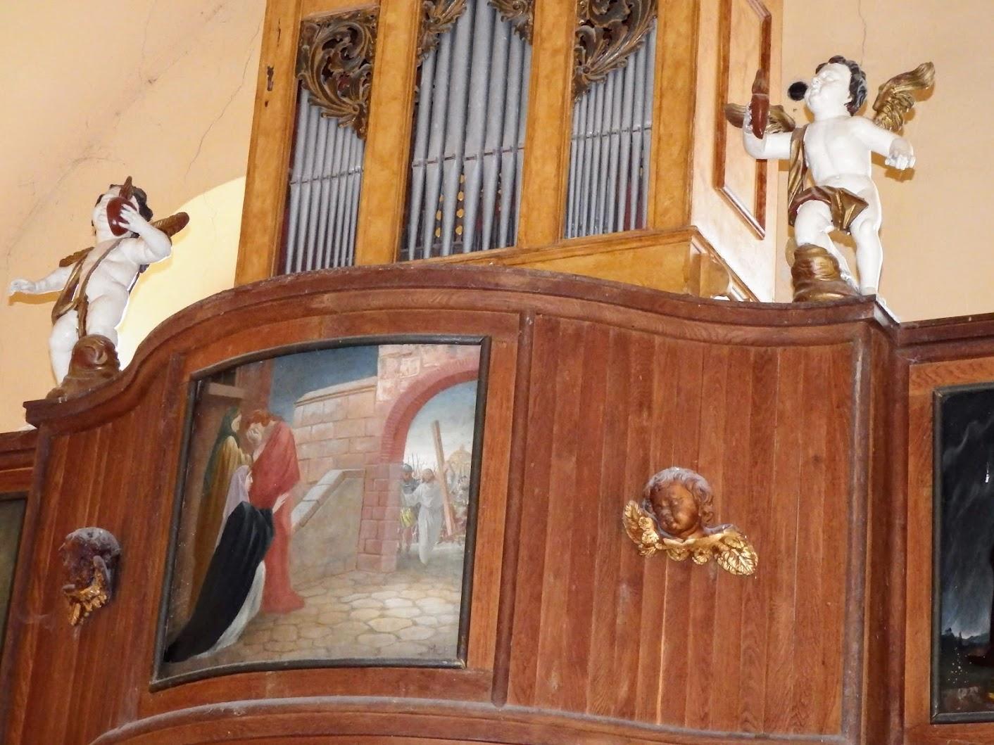 Kőszeg - Szent Kereszt felmagasztalása kálváriatemplom,templombelső