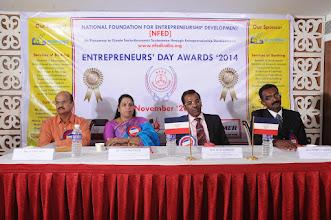 Photo: Dignitaries on Entrepreneurs' Day Awards '2014
