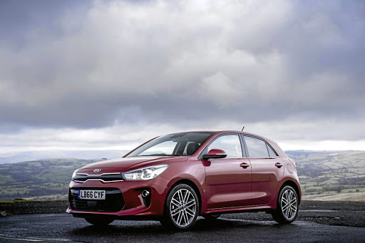 The Kia Rio. Picture: NEWSPRESS