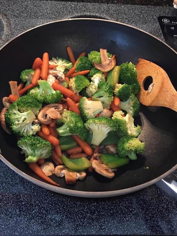 Stir Fry Veggie Medley Recipe