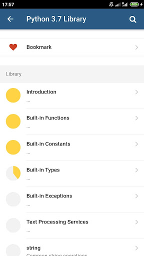 Python 3.7 Docs 1.1.0 Screenshots 3