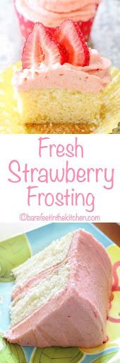 Fresh Strawberry Frosting