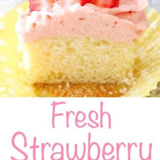 Fresh Strawberry Frosting.
