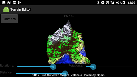 PBD & Terrain Generator - Real Time - náhled