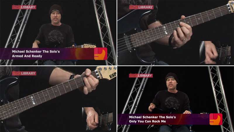 Learn to Play Michael Schenker: The Solos