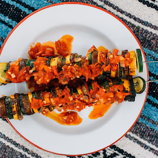 Camp Eats: Ratatouille Campfire Kababs