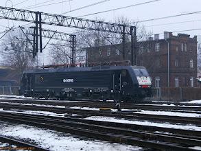 Photo: ES 64 F4-455 (Lotos Kolej, dzierżawa od MRCE Dispolok) {Toruń Wschodni; 2013-02-27}