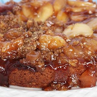 Slow Cooker Apple Crisp Coffee Cake.