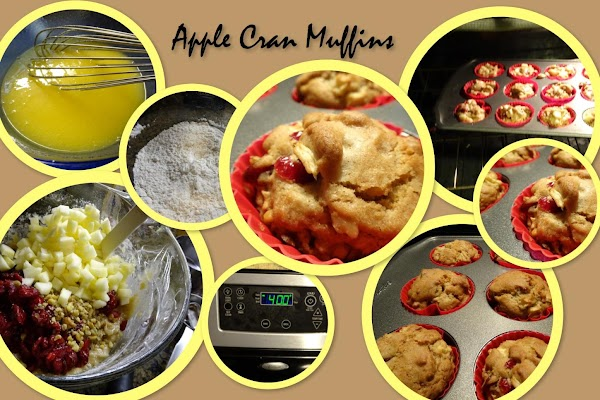 Apple Cran Muffins Recipe