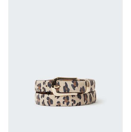 Saddler Horten belt leopard