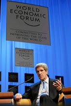 Photo: DAVOS/SWITZERLAND, 27JAN07 - John F. Kerry, Senator from Massachusetts (Democrat), USA captured during the session 'The Future of the Middle East' at the Annual Meeting 2007 of the World Economic Forum in Davos, Switzerland, January 27, 2007.  Copyright by World Economic Forum    swiss-image.ch/Photo by Remy Steinegger  +++No resale, no archive+++