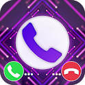 Color Call Phone Screen Themes - Call Flash Alert icon