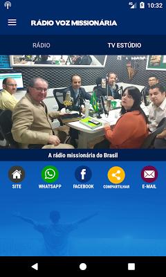 Rádio Voz Missionária - screenshot