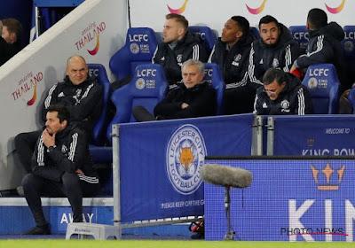"""José Mourinho, furieux, critique l'attitude """"puérile"""" de ses joueurs"""