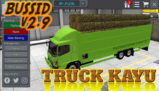 Livery Bussid Mod Truck Kayu 1.5 screenshots 2