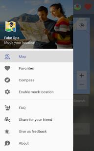 Fake Location (Mock GPS) - náhled