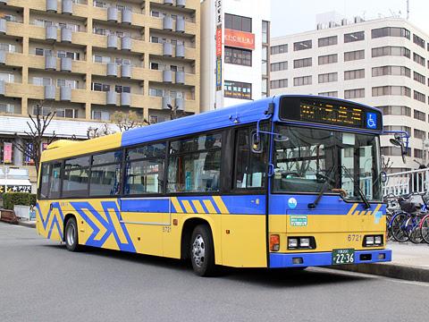 近鉄バス 「八尾~住道~萱島線」 6721