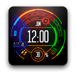 Neon Watch Face Icon