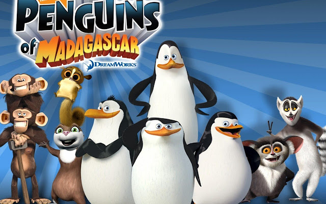 The Penguins of Madagascar Tab