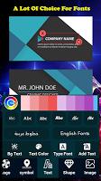 Business Card Maker - Business Card Designer