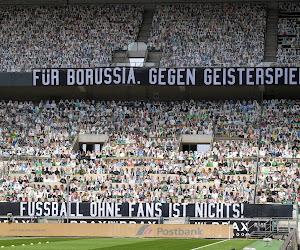 📷 Le public en carton du Borussia Monchengladbach