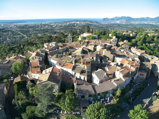 France-Mougins.jpg - The medieval center of Mougins, France.