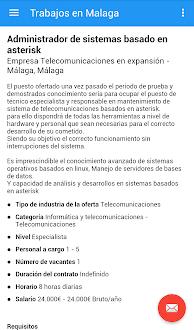 Trabajos en Malaga Gratis