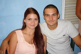 "Photo: Sandra and Momchil ---""Cute couple!"""