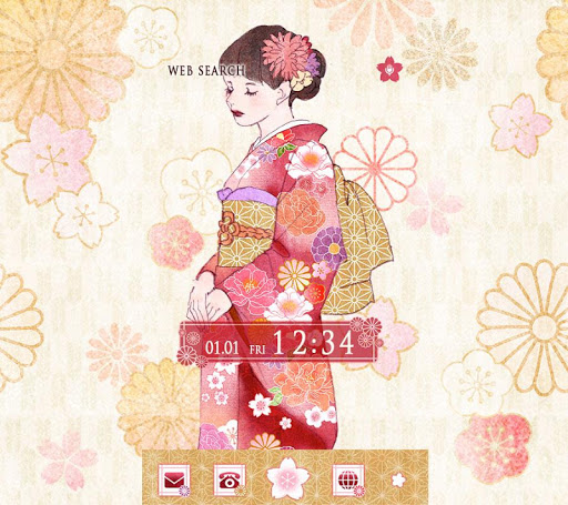 Japanese style-Kimono Lady- 1.0.0 Windows u7528 1