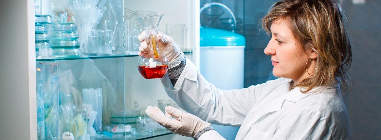 Анализ качества воды в лаборатории