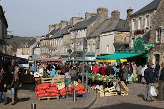 Photo: Markt in Bricquebec