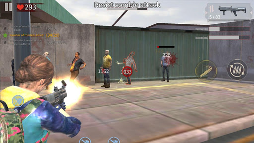Zombie City : Dead Zombie Survival Shooting Games  screenshots 5