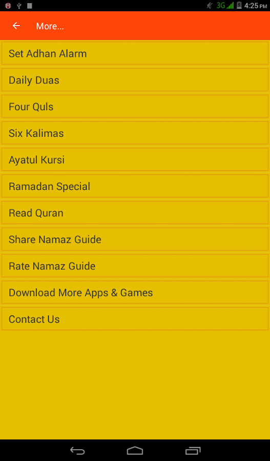 Namaz Guide- screenshot