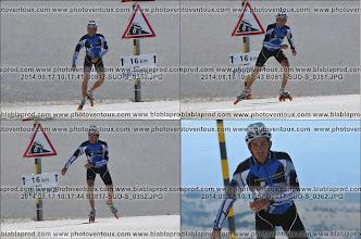 Photo: Il y a plusieurs photographes professionnels sur le dernier kilomètre. Thibaut sera le premier arrivé en 1h47.