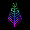 Neon Block Tower icon
