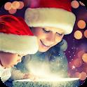 Christmas magic.Live wallpaper icon