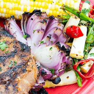Charred Onion Lotus | Backyard Grill Recipes