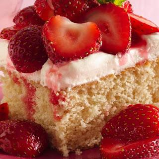 Strawberry Shortcake Squares Recipe