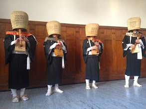 Photo: First concert of the Summer School The komusō invade the Hausherrenschule in Radolfzell