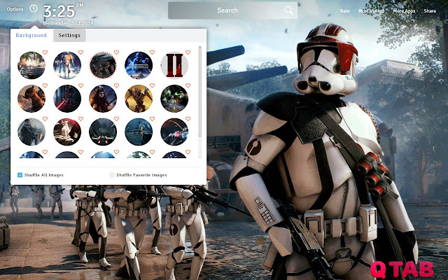 Star Wars Battlefront 2 Wallpapers New Tab