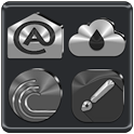 Black, Silver and Grey Icon Pack ✨Free✨ icon