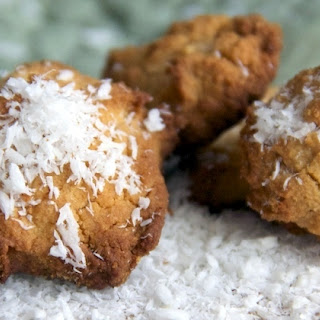 Mini Coconut Flour Bites.